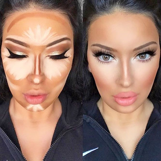 How to Apply Contour Makeup Depending on Your Skin Tone