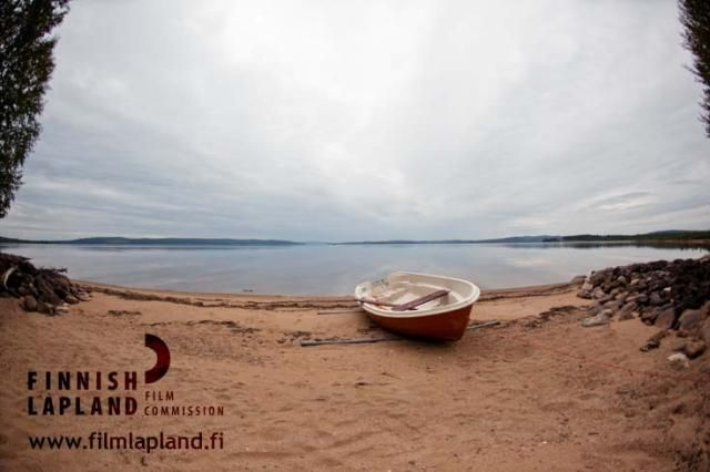 Vietonen lake in Ylitornio, Finnish Lapland. Photo by Jani Kärppä. #filmlapland #arcticshooting #finlandlapland