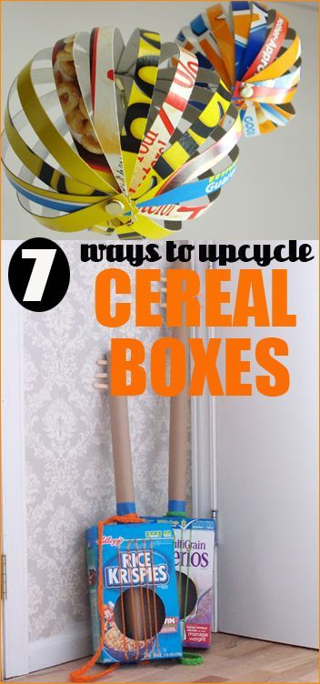 Ideas To Decorate A Box 7 Ways To Upcycle Cereal Boxes  Upcycle Decorating And Box