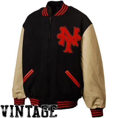 new giant vintage jacket york varsity
