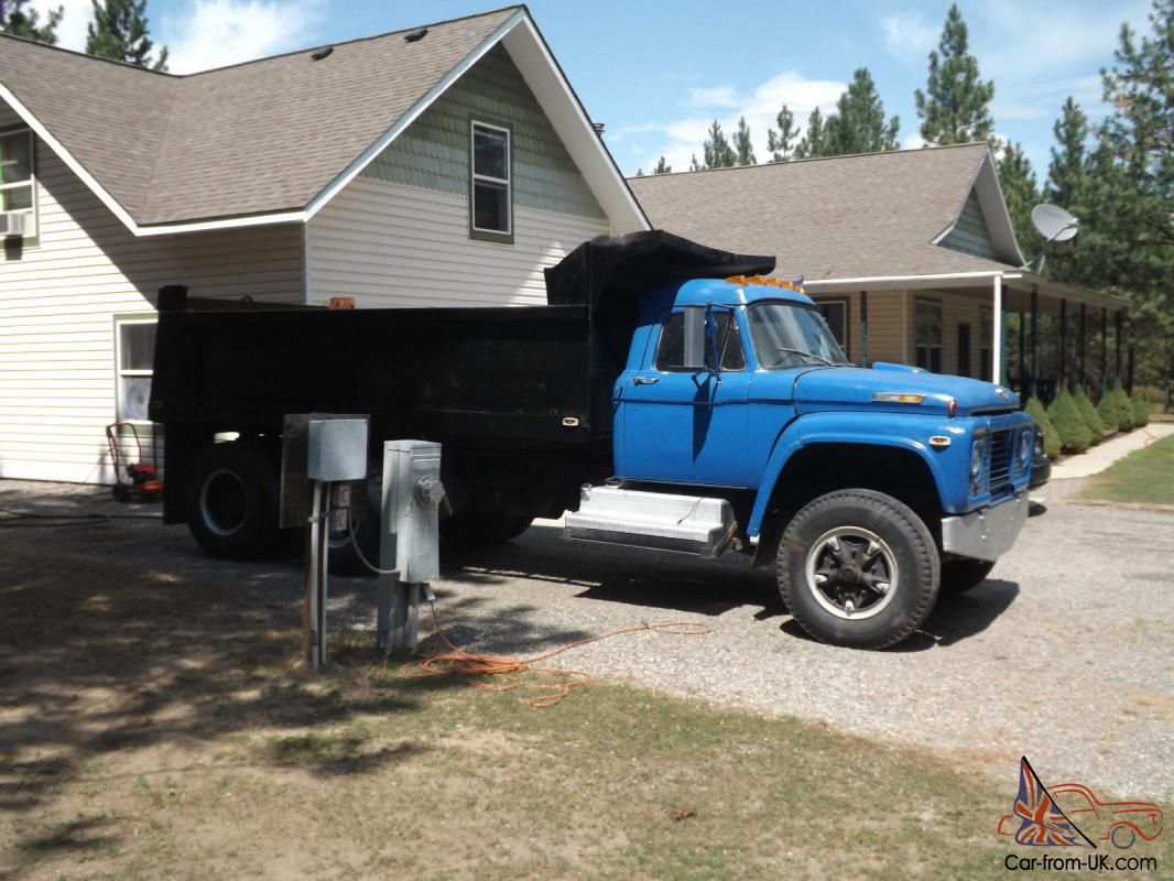 1970 Ford Truck 1970 Ford T95 Dump Truck For Sale Dump Trucks For Sale Trucks Dump Trucks