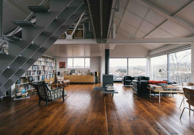 Let's go and live in a converted grain mill in Bruton, Somerset / via www.themodernhouse.net