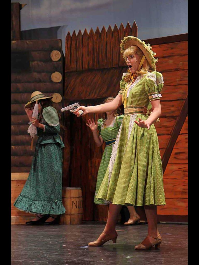 Sierra Steplewski As Nikki Harris In Curtains Theatre Curtains Curtains The Musical Costume Design