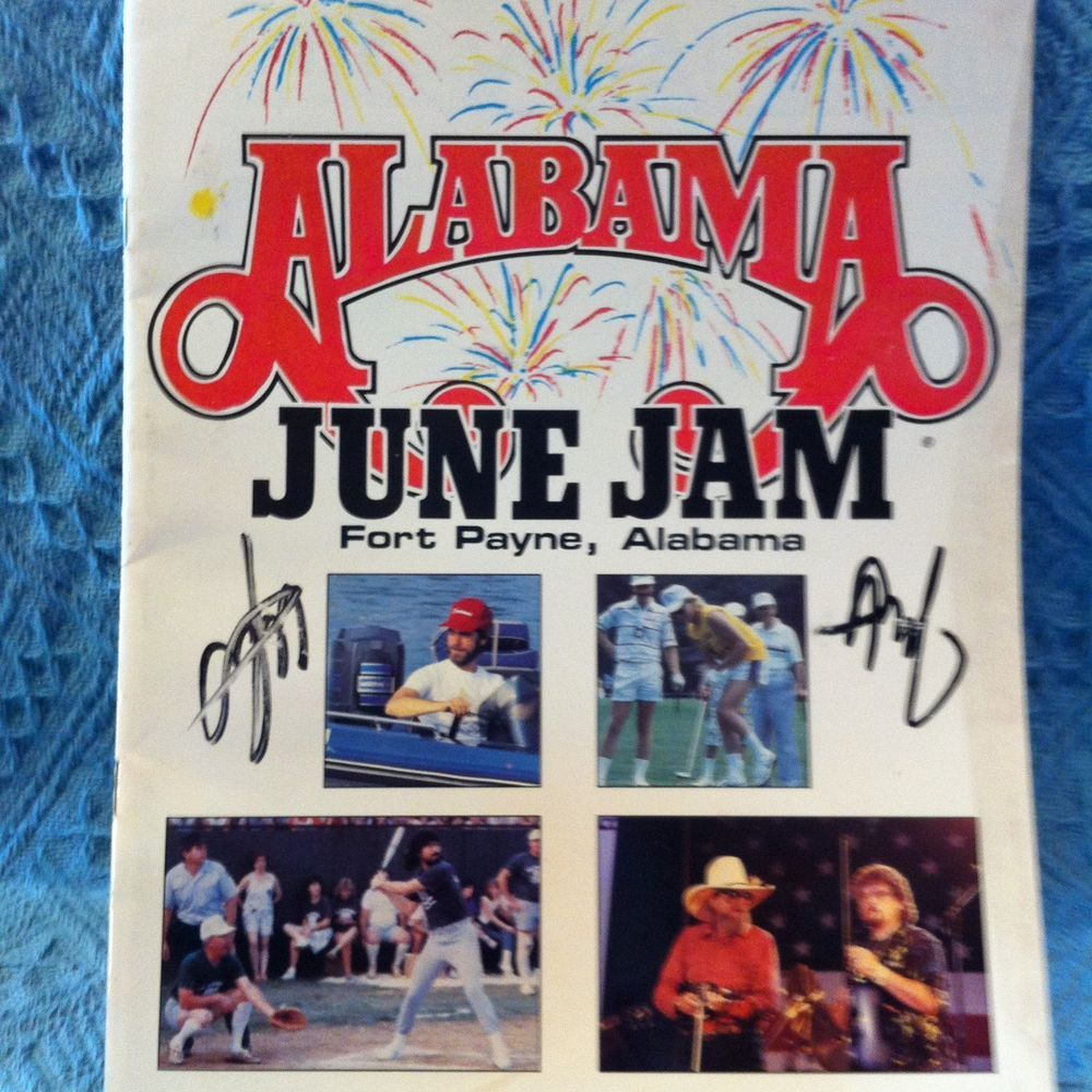 "NEW 1987 ""ALABAMA BAND"" JUNE JAM FT. PAYNE, ALABAMA"