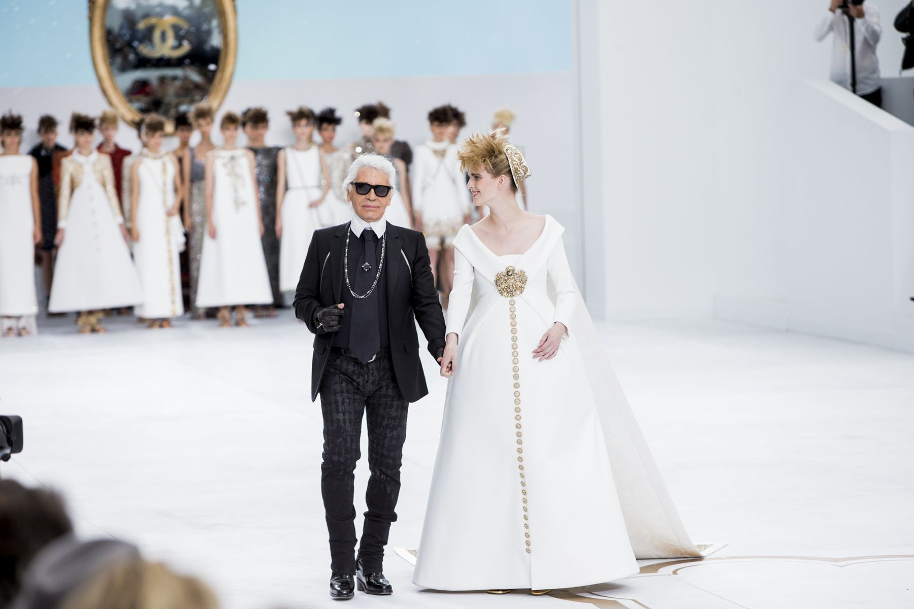 The Best Candid Moments from the Fall 2014 Couture Shows - Vogue