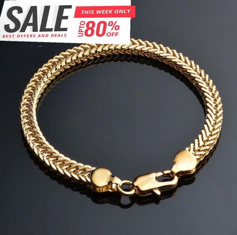 Ionen Armband Edelstahlkette Armkette Silber Gold für Herren Damen Magnetarmband