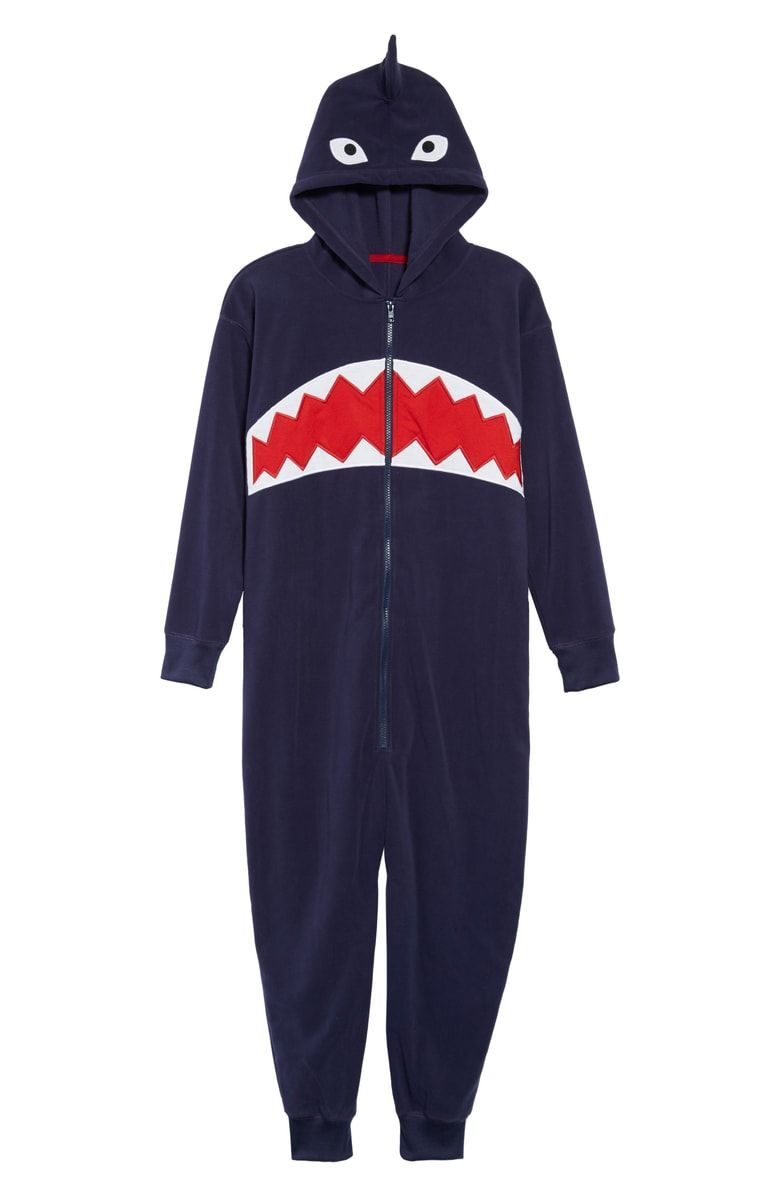 fb8889fd3e Free shipping and returns on Tucker + Tate Animal One-Piece Hooded Pajamas  (Little Boys   Big Boys) at Nordstrom.com. He can drift off to sleep  fearlessly ...