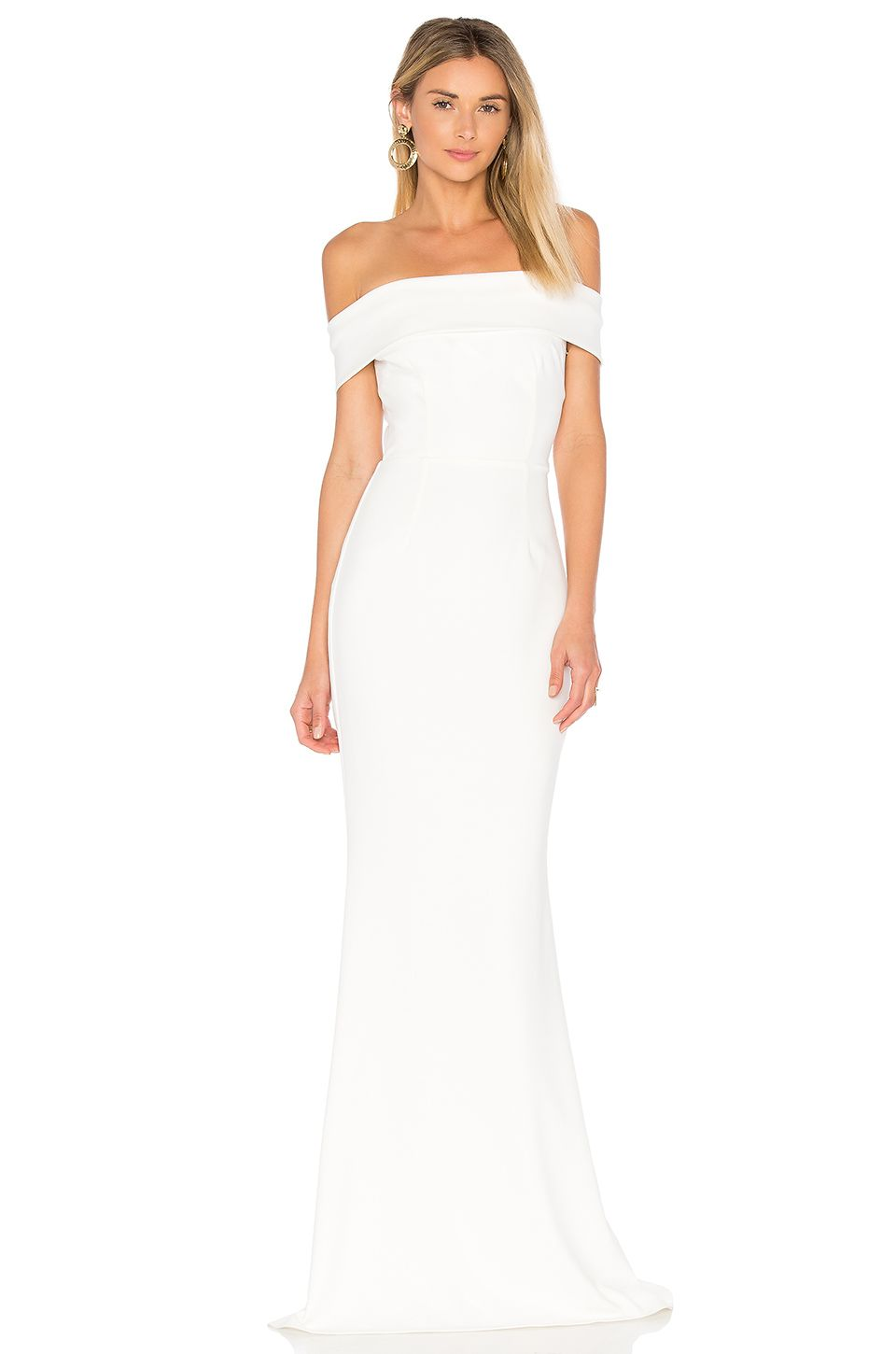 Katie May Legacy Gown in Ivory | REVOLVE | dress | Pinterest | Ivory ...