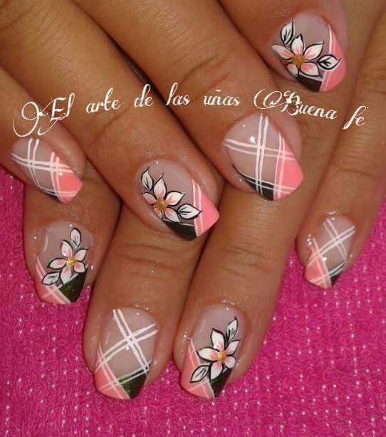 Nail Design Manicura De Uñas Uñas Decoradas Modernas Y
