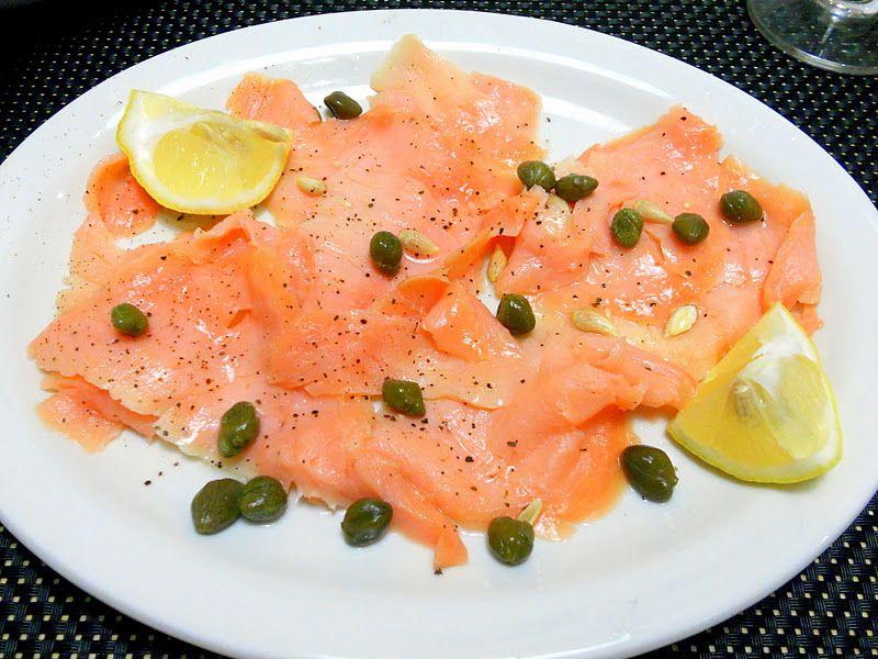 Wedding Buffet Menu Smoked Salmon With Lemon Black Pepper Olive