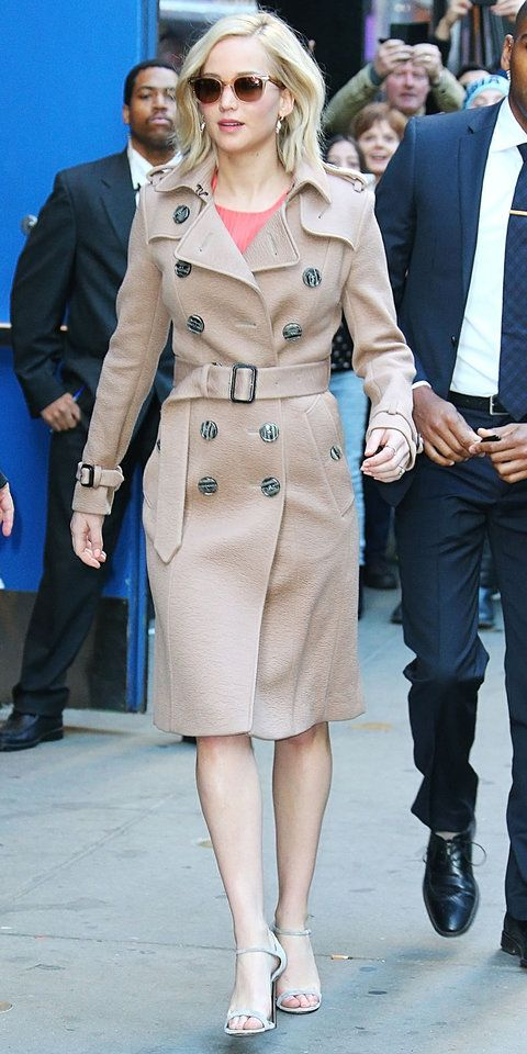 How to Wear a Camel Coat - Celebrities in Camel Coats   InStyle.com
