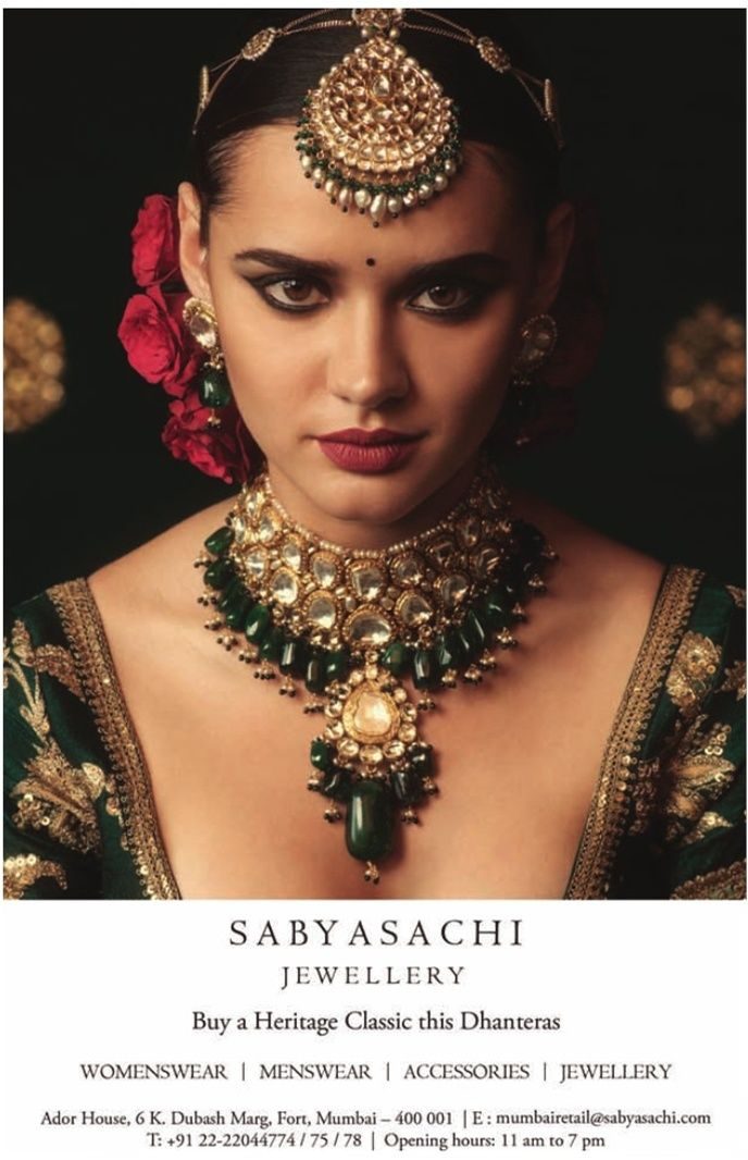 Sabyasachi Jewellery Buy A Heritage Classic This Dhanteras
