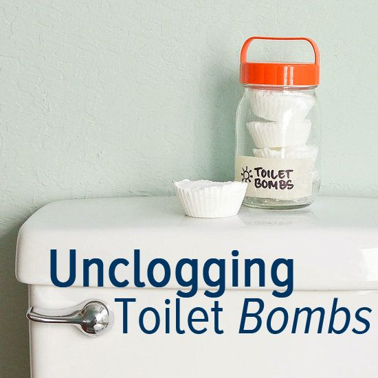 Unclog Your Commode With Eco-Friendly Toilet Bombs | Toilet ...