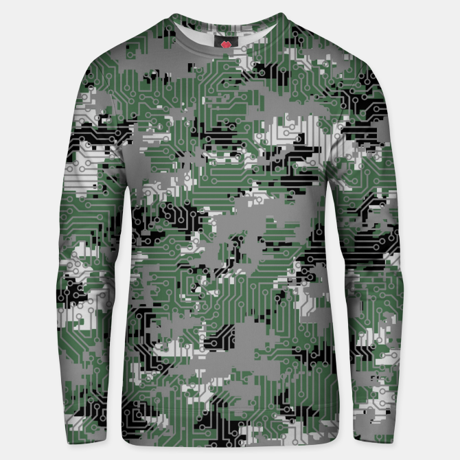 Computer Circuit Camo Urban Gamer Unisex Sweater Live Heroes Gamer Gamers Gaming Game Games Pattern C Unique Womens Fashion Custom Sweaters Camo Sweater