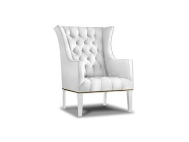 Shop for Sherrill Wing Chair W/Nail Trim & Exposed Wood Legs, 1423-1, and other Living Room Chairs at Sherrill Furniture in Hickory, NC. Seat Type: Tufted Seat. Back Type: Tufted Back.