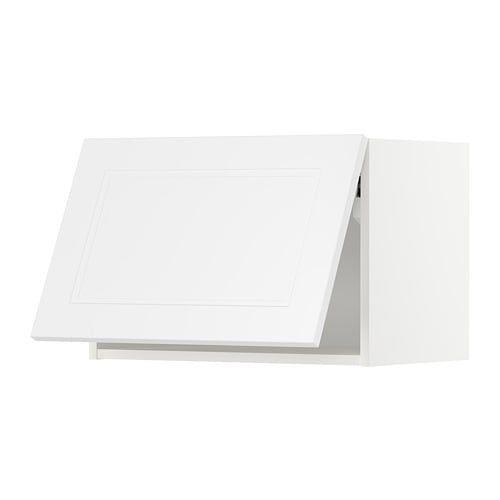 Best Metod Wall Cabinet Horizontal White Axstad Matt White 400 x 300