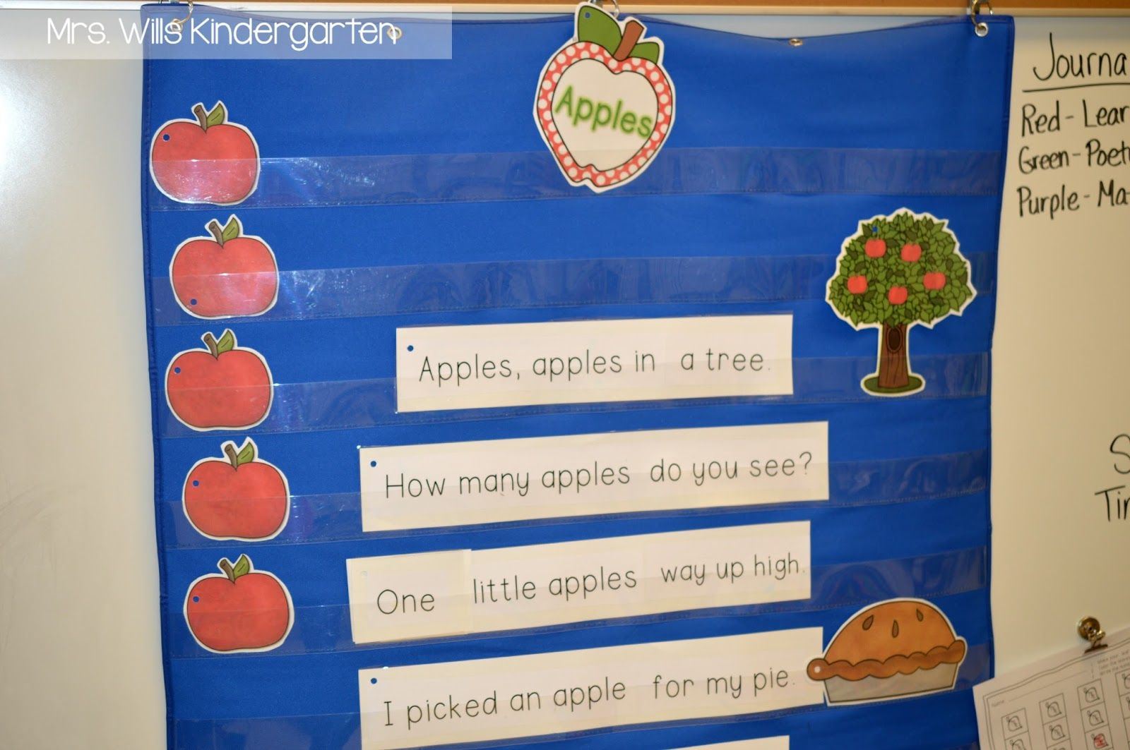 Kindergarten Apple Lesson Plans