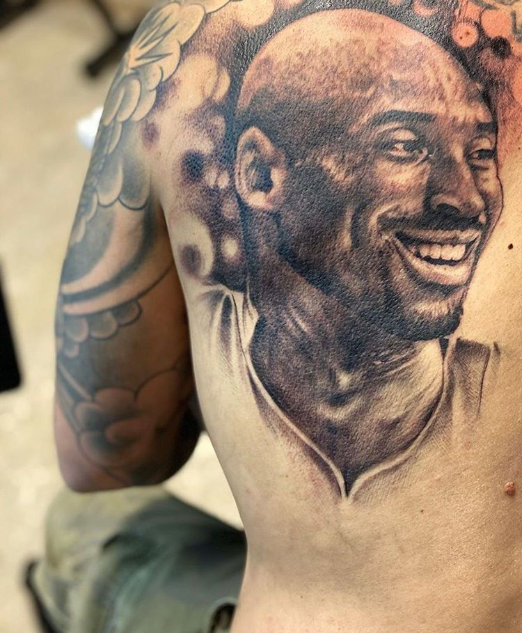 Tribute tattoos image by lenae watkins on Kobe Bryant in