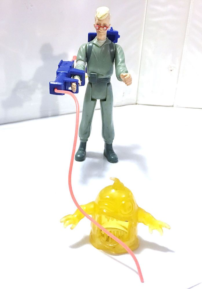 1986 EGON SPENGLER #2 • C7-8 • 100% COMPLETE • VINTAGE THE REAL GHOSTBUSTERS #Kenner