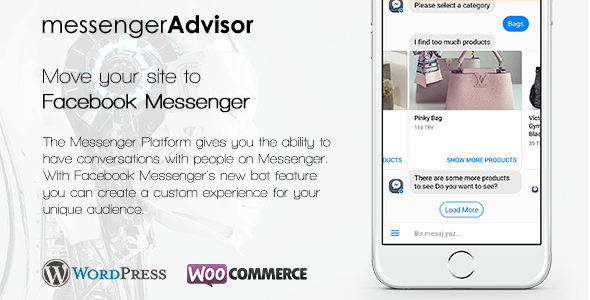Messenger Advisor - Messenger Chat Bot for Wordpress . Messenger ...