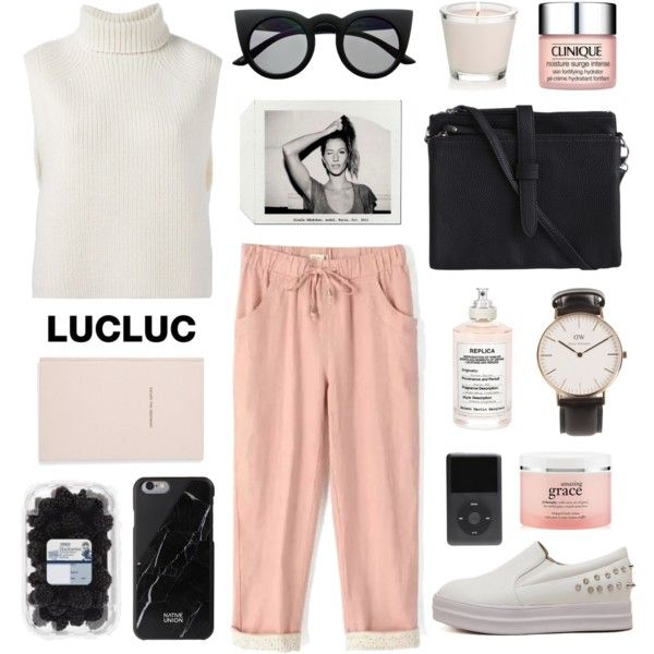 #4 by jesicacecillia on Polyvore featuring Étoile Isabel Marant, Pieces, Daniel Wellington, Native Union, Retrò, Maison Margiela, Clinique, philosophy, Kate Spade and lucluc