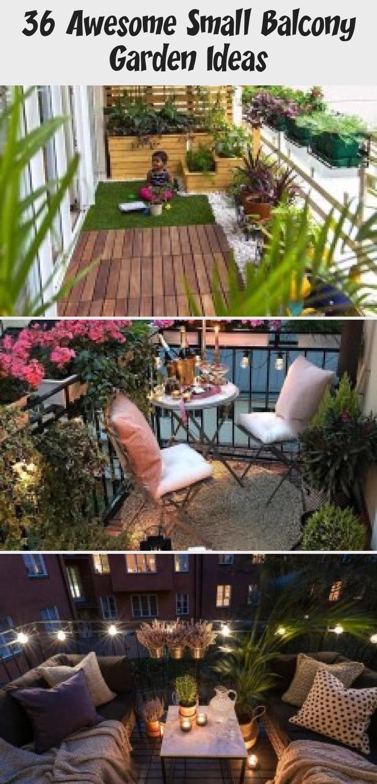 36 Awesome Small Balcony Garden Ideas Small Balcony Garden Balcony Garden Small Balcony