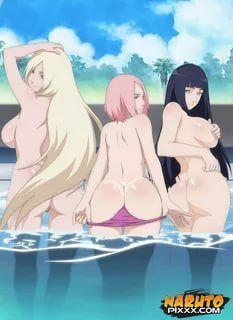 Can help Sakura hinata and ino hentai not