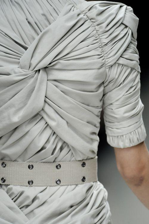 Burberry amazing fabrics works !