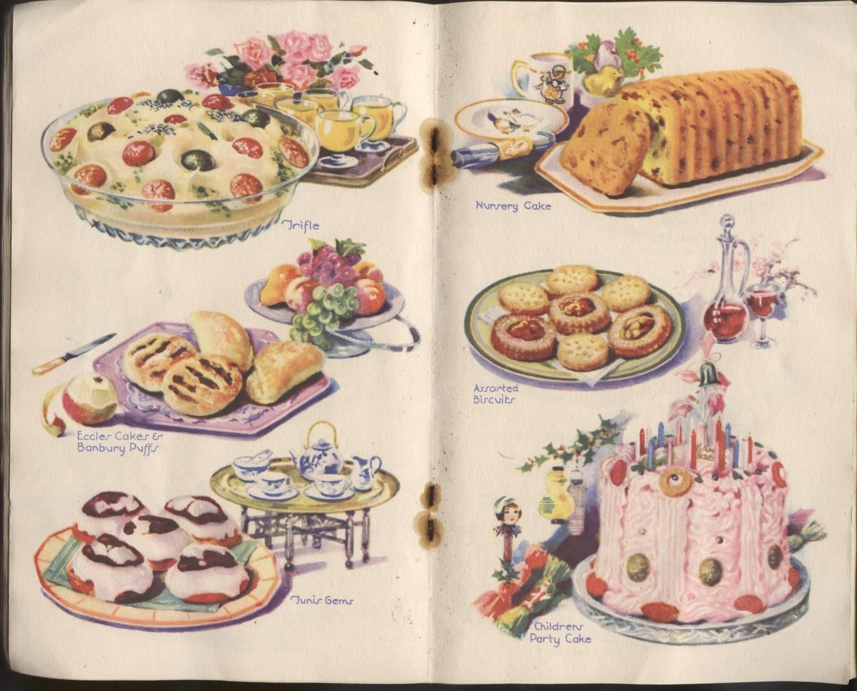 Food Free Vintage Illustrations Vintage Baking Vintage Recipes Vintage Dessert