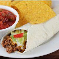 Homemade Taco Bell Burrito Supreme -  Homemade Taco Bell Burrito Supreme  - #Bell #burrito #homemade #supreme #Taco