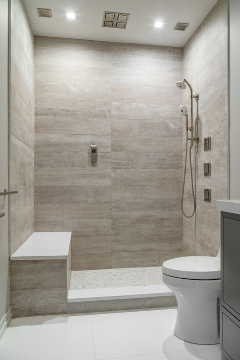 110+ Amazing Bathroom Tile Shower Ideas #bathroomtileshowers