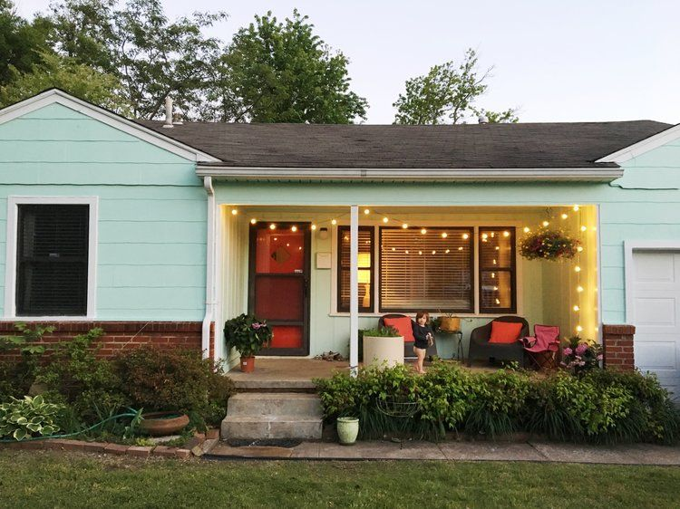Diy Painting Your House Exterior House Exterior Green House Exterior Green Exterior House Colors
