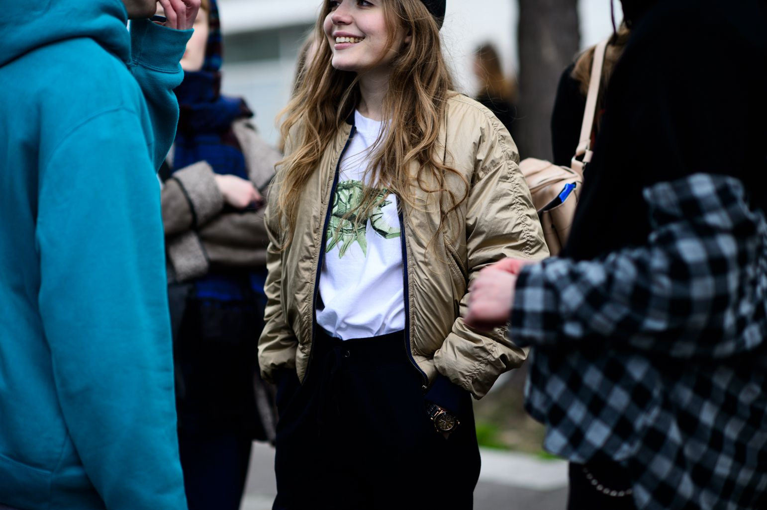 Paris Fashion Week Fall 2016 Street Style, Day 5 - -Wmag
