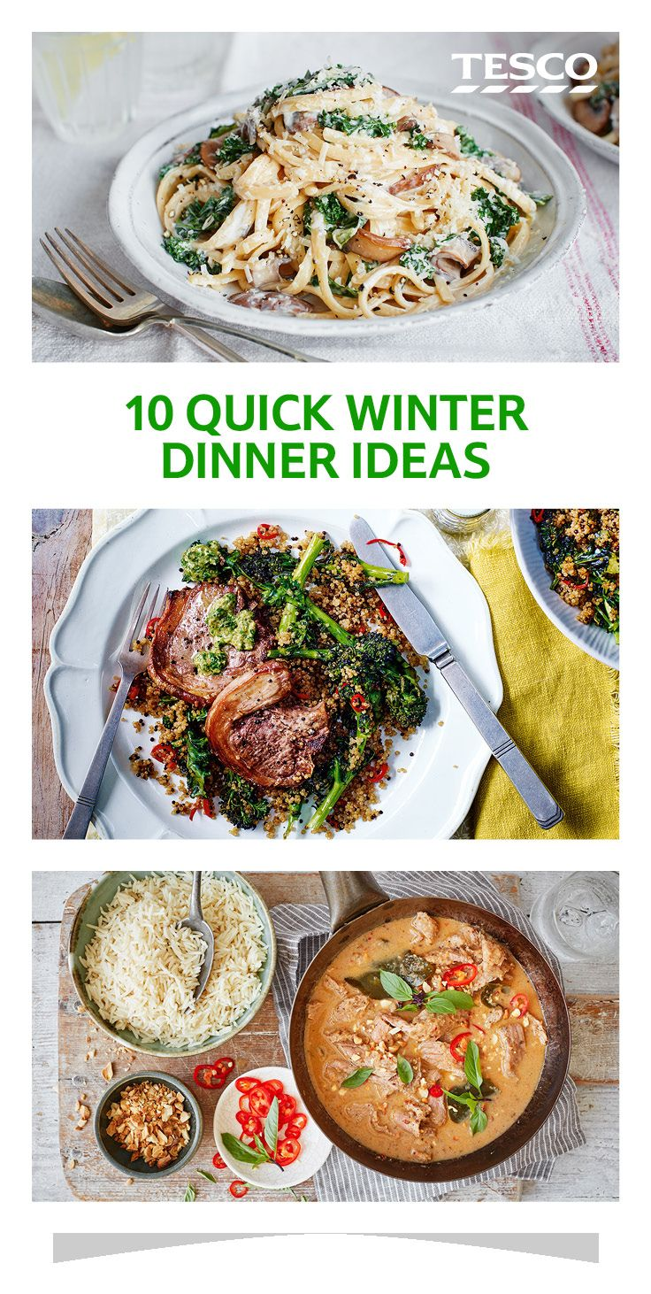 10 Quick Dinner Ideas To See You Through Winter Food