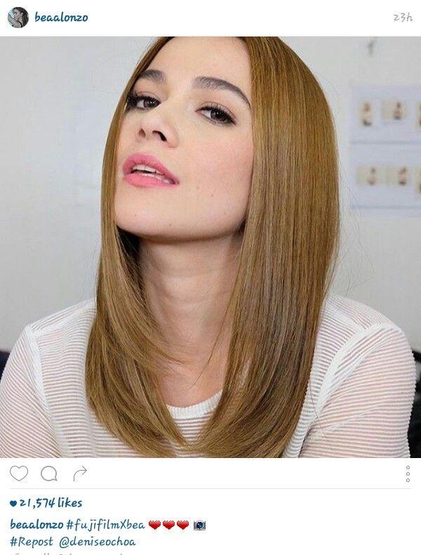 Bea Alonzo Hair Color Names Esalon Hair Color Hair Styles
