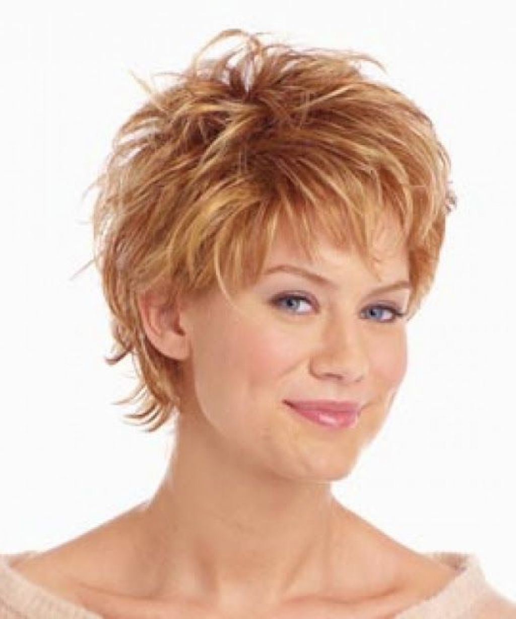 Short Hairstyles For 50 Year Old and trendy hair color
