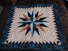 mmm quilts: Mariners Compass | quilting | Pinterest | Mariners ... : nautical quilts patterns - Adamdwight.com