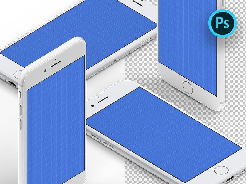 Download Isometric Iphone Mockups Iphone Mockup Iphone Mockup Free Iphone