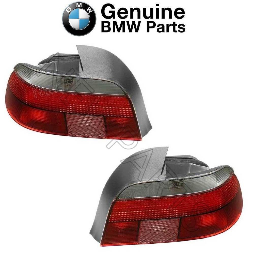 Fits BMW E39 528i 540i M5 Pair Set Of 2 Taillights With White Turn Signal OES