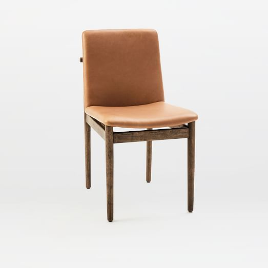 Framework Leather Dining Chair Taupe