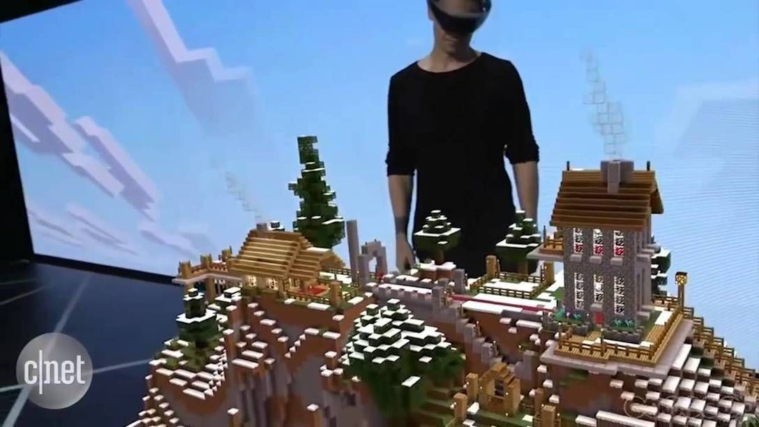 The evolution of Microsoft's HoloLens