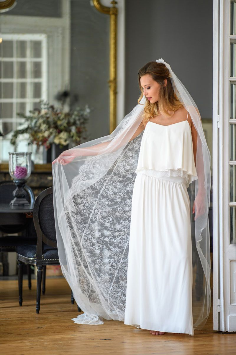 Robe de mariée créateur, made in france,