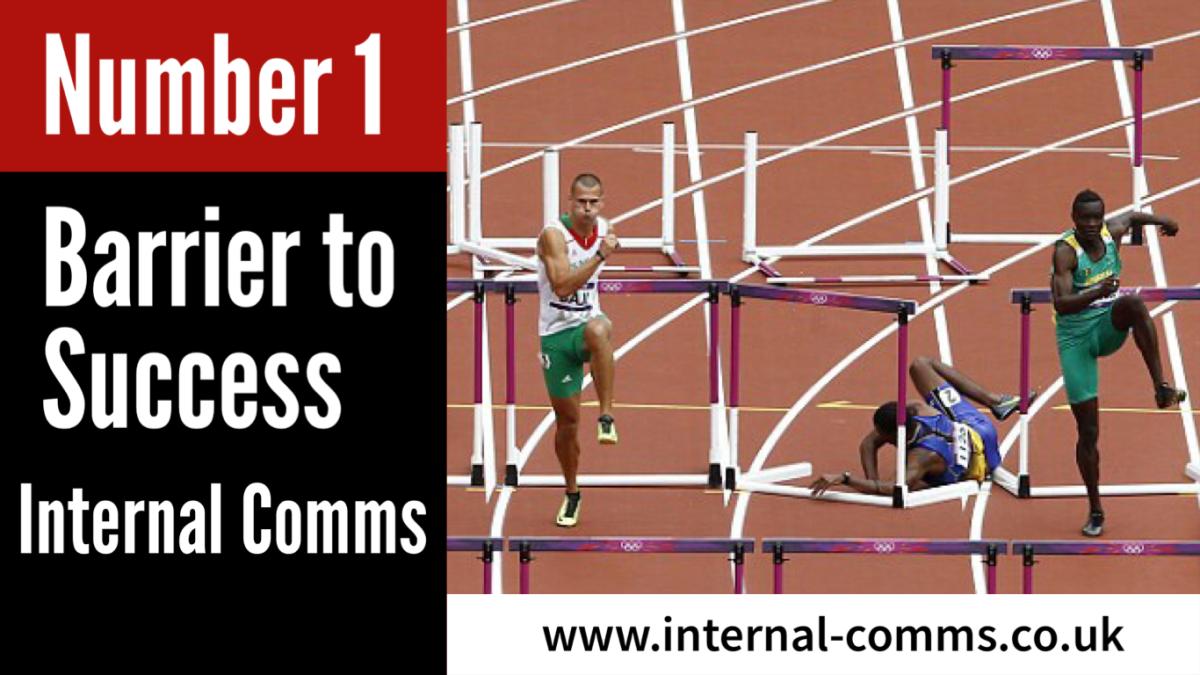 Internal Communications…Barrier to Success www.internal