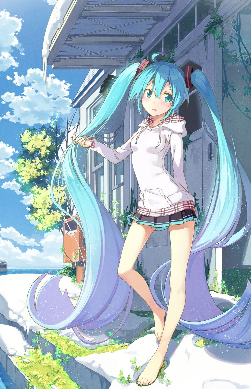 Bot On  Hatsune Miku  Anime, Hatsune Miku, Anime Art-6673