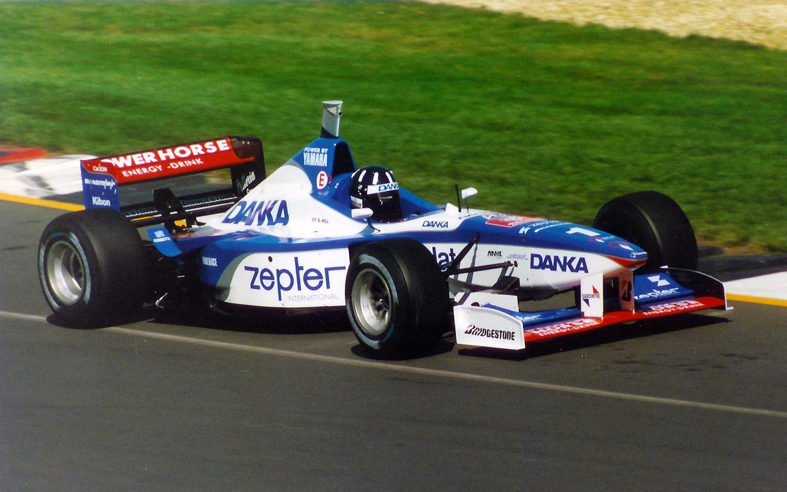 Image result for Footwork FA17 Damon hill, Indy cars