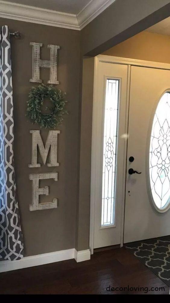 15 Attractive DIY Farmhouse Home decor Ideas and All You Need to Know #diyhomedecor #farmhousedecor #creativeDIYfarmhouse #christmasdecorideasforlivingroom
