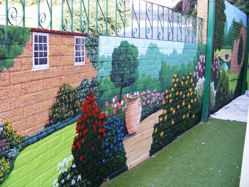Superieur Outdoor Wall Murals For The Garden   Google Search