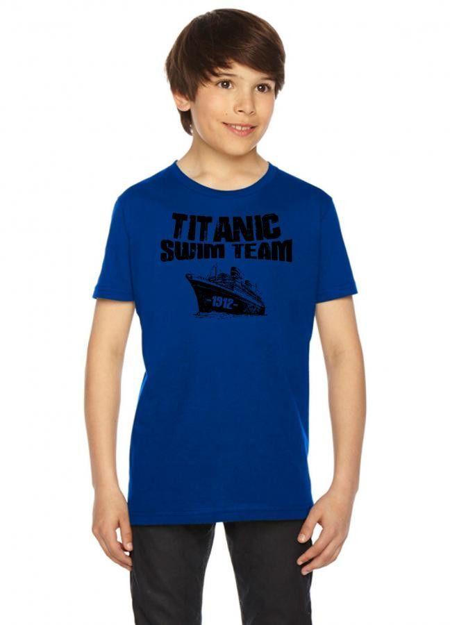 titanic swim team Youth Tees