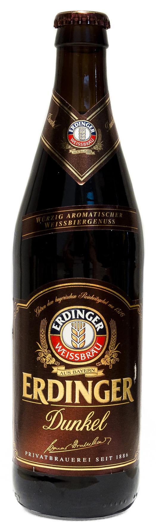 Erdinger Weissbier Dunkel | beers i love | Home brewing ...