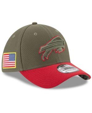 New Era Buffalo Bills Salute To Service 39THIRTY Cap - Brown L XL ... 3fff287ce